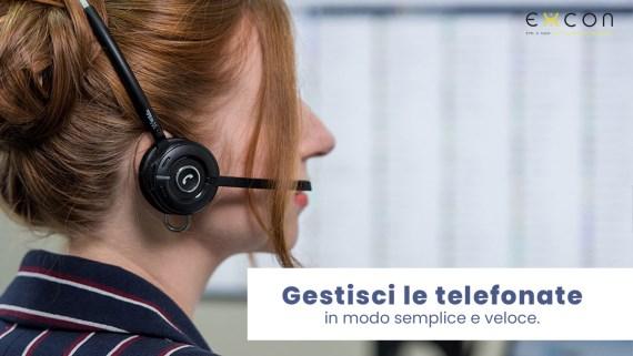 Gestisci le telefonate in modo semplice e veloce