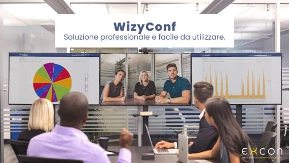 WizyConf è la soluzione professionale facile da utilizzare